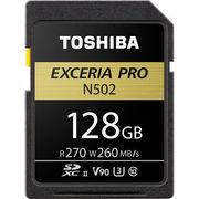 東芝 EXCERIA PRO 128GB SDXCメモリカード (SDXU-Dシリーズ<N502>)