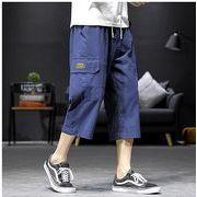 【大きいサイズM-5XL】ファッション/人気パンツ♪ブラック/ダークグリーン/ダークブルー3色展開◆