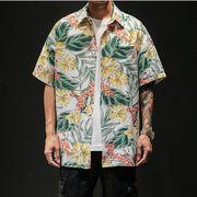 【大きいサイズM-5XL】【ビーチ】ファッション/人気ワイシャツ