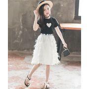 春まで着れる トレンドデザイン/2点セット/おしゃれな/気質/大人気/小さい新鮮な/Tシャツ+スカート/セット
