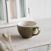 Mokkmokk(もっくもっく) 丸コーヒーカップ オリベ[美濃焼]