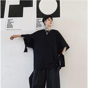 【春夏新作】ファッション/人気Tシャツ♪ブラック/ホワイト2色展開◆