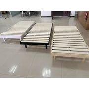 【国内発送、送料無料】ベッド シングル 三段高さ調整すのこベッド