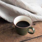 ボードー 13.5cmマグカップ/スープカップ ガーデングリーン[美濃焼]