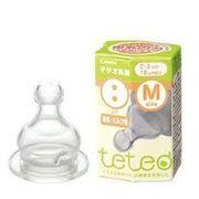 テテオ乳首 母乳 ミルク用 Mイズ1個入