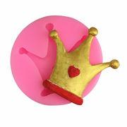 激安☆DIYアクセパーツ★アロマ★ゴム型 UVレジン★デコパーツ★樹脂レンジ★王冠シリコンモールド