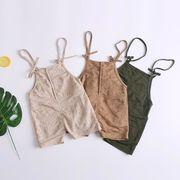 オーバーオール 女の子 80-100# サロペット 男の子 キッズパンツ パンツ 子供服