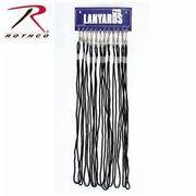 Whistle Lanyards ホイッスルランヤード ブラック