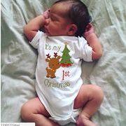 ★2019年新作アパレル★子供★キッズ服★クリスマスプリント★連体服★男女通用★半袖★