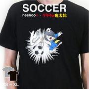 和柄 ユニセックス 鬼太郎コラボTシャツ サッカーシリーズ「漫画」