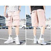 【大きいサイズM-5XL】ファッション/人気半ズボン♪ブラック/ピンク/カーキ3色展開◆