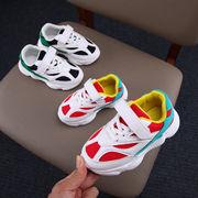 児童 スポーツシューズ 通気 ネット 靴 秋 韓国風 男児 スケートボード 赤ちゃん 女