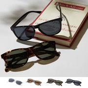 【2019春夏新作】カラーフレーム ウェリントン サングラス / 眼鏡 めがね メガネ UV メンズ レディース