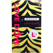 オカモト LOVE DOME(ラブドーム) タイガーコンドーム Lサイズ 12個入