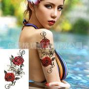 ★人気★タトゥーステッカー★防水★ステッカー★刺青 ◆diy防水型 ボディータトゥーシール