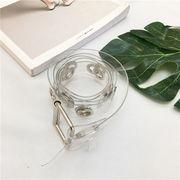 夏 新しいデザイン 韓国 原宿スタイル メタル 丸い 環 個性 レジャー 何でも似合う