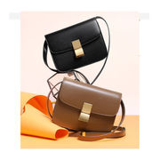 ショルダーバッグ レディース 牛革 セリーヌ風 box 2WAY肩掛けバッグ 本革 2way レザー 女性 鞄