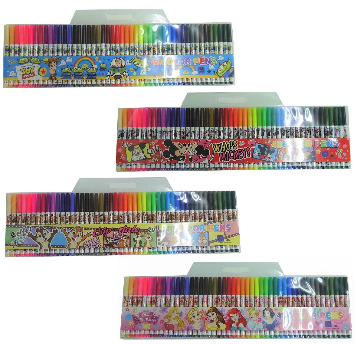 ディズニー 48色水性ペンセット