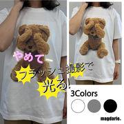 クマ柄Tシャツ