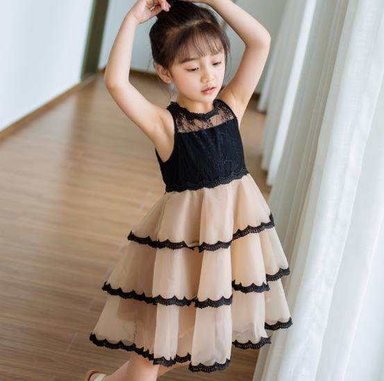 キッズワンピース ファッション 女の子 夏 ワンピース 姫様 可愛い 綺麗
