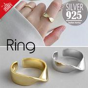 vnsh000597◆5000以上【送料無料】◆シルバー925リング◆開口指輪 シンプル