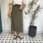 夏2色 ★韓国ファッション可愛 レディーズ 合わせやすい カジュアル スカート