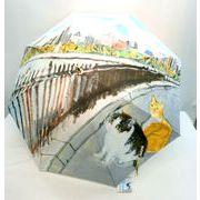 【長傘】【雨傘】マンハッタナーズ【セントラルパークの貯水池】手開き長傘