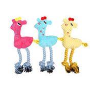 発声動物玩具子ジカ ペット用品 耐かむ   犬 猫 おもちゃ ペットグッズ
