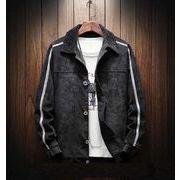 メンズジャケット コート 長袖トップス カジュアル グレー/ブラック2色