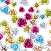 5g 【封入 パーツ】 高品質 アルミのバラ ミックスアソートセット