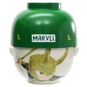 【茶碗・お椀】MARVEL × GuriHiru 汁椀茶碗セット 大/ロキ