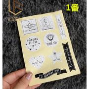 DIY ★★新作★★粘着シール★ファッション ★シール