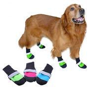 犬の靴 雨靴 ペットシューズ 中・大型犬 犬靴 ペット用品 お出かけ・散歩 防水 保温 滑りない