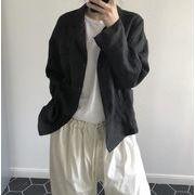 YUNOHAMI テーラードジャケット オフィス カジュアル レディース トップス 通勤 オシャレ薄手 女性 リネン