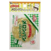 【メモ帳】メロンパンみたいなメモ ダイカットメモ 甘い香り付き