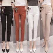 全4色★最強の新作★韓国ファッション可愛 レディーズ ハイウェスト カジュアル レギンス
