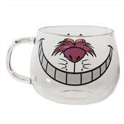【マグカップ】ふしぎの国のアリス 耐熱ガラスマウスマグ チェシャ猫