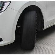 雪道 凍結 簡単取付 車 タイヤ スキッドカバー スノー モービルスキッドカバー タイヤカバー