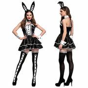 バニーガール  コスプレ  cosplay 大人 衣装 万聖節  ウサギ  ハロウィーン 仮装 魔術師