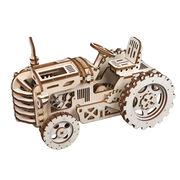 ROBOTIME 木製パズル トラクター TRACTOR 約238×118×140mm