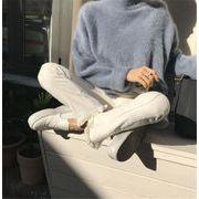 品質良い!店舗お勧め スプリット 怠惰な風 ミンク セーター ゆったりする ニットトップス