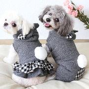 秋冬新作 犬服 ワンちゃん服 ドッグウェア 犬 猫服 猫 ペット用品 (XS-XL)