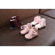 【子供靴】★新品★子供ブーツ★可愛いブーツ★シューズ★防水★キャンディー色★21-30