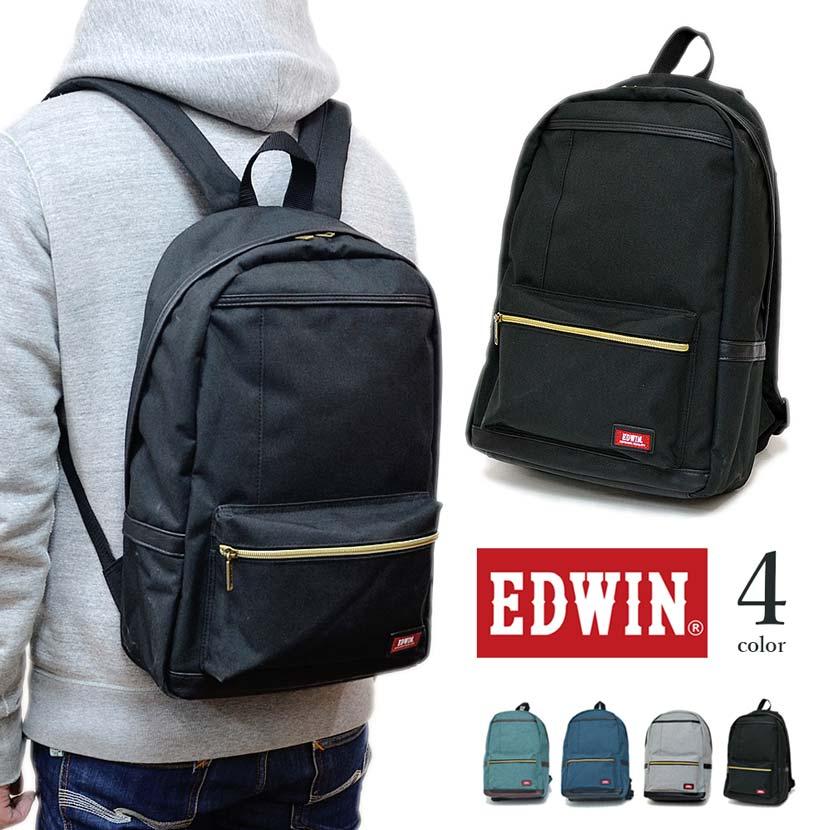 【全4色】 EDWIN エドウイン リュックサック バックパック カバン