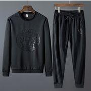 【大きいサイズM-8XL】【秋冬新作】ファッション/人気トップス(上下セット)