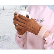 秋冬新作★手袋★寒い冬★暖かい手袋★厚手手袋★フリース手袋★保温手袋★