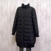 【冬物コート】バックリボン ダウンロングコート