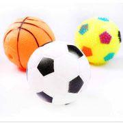 発声動物玩具 ボール サッカー バスケットボール  ペット用品 ペットグッズ  ペット用おもちゃ