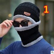 ★2019新品★ハット★襟巻き&毛糸の帽子★ちゃんニット帽子★暖かい★