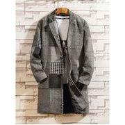 秋冬新作メンズコート トップス シンプル おしゃれ♪グレー/ブラウン2色